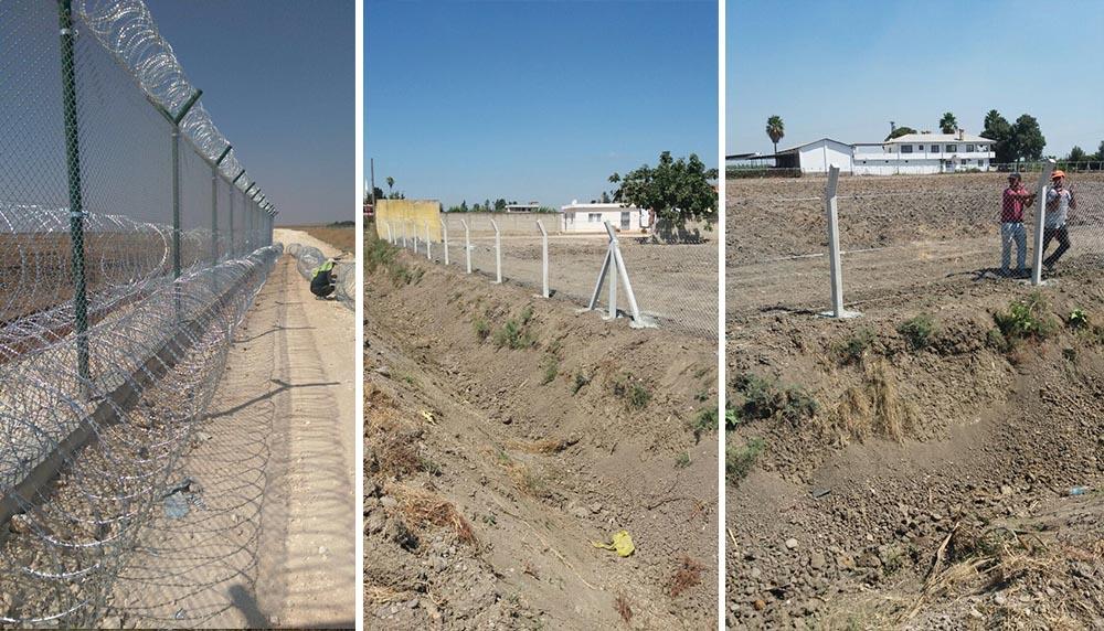 tel örgü, tel çit, jiletli tel, bahçe çiti sistemleri