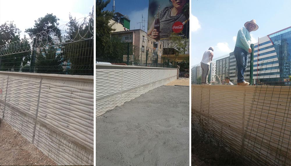 adana beton direkli tel çit